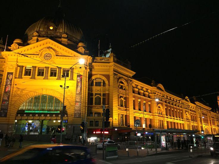 #FlindersStreet #RailwayStation of   #Melbourne