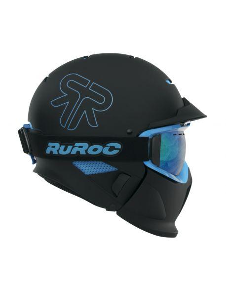 Горнолыжный шлем Ruroc RG1-x Black Ice