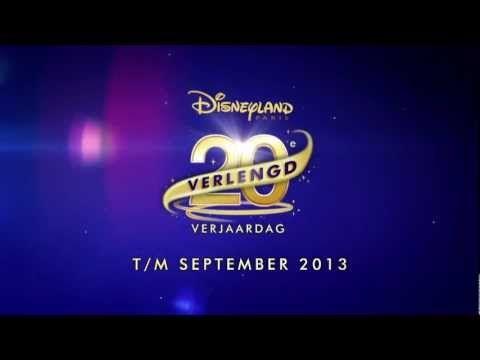 Kom je mee de 20ste verjaardag van Disneyland Parijs vieren? Haast je, het kan nog tot en met september 2013!