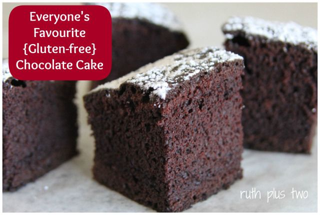 everyone's favorite {gluten-free} chocolate cake