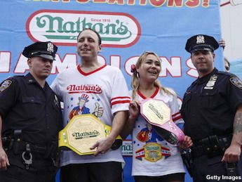 Nathan's Hot Dog Eating Contest 2015: Joey Chestnut Goes For Nine In A Row