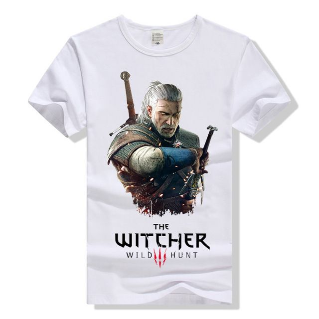 Promotion price The Witcher 3 T Shirt Geralt of Rivia T-Shirt Cotton Men Women Unisex Tee Summer Short Sleeve Tshirt Gifts Clothing  just only $14.03 with free shipping worldwide  #tshirtsformen Plese click on picture to see our special price for you