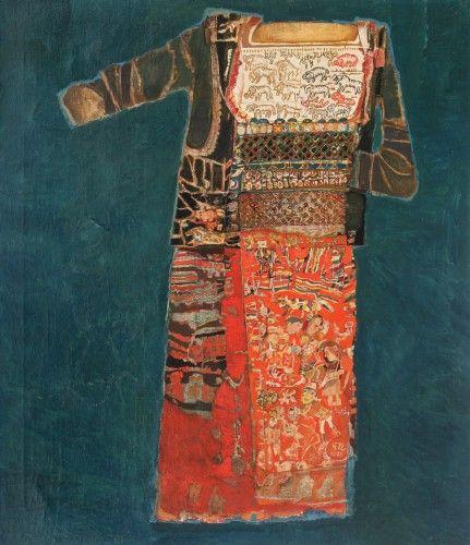 Georgeta Naparus, Costum cu motive pastorale