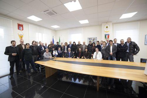 Delegazione ZeroCo2 visita la nuova sede FIGC Molise