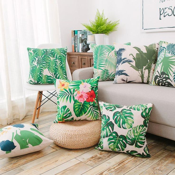 Tropical Cushion Covers