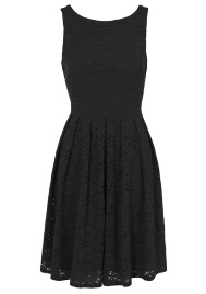 Black Lacey dress from Tesco clothing