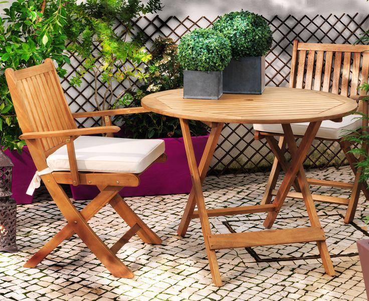 M s de 1000 ideas sobre sillas plegables en pinterest - Mesas de jardin aki ...