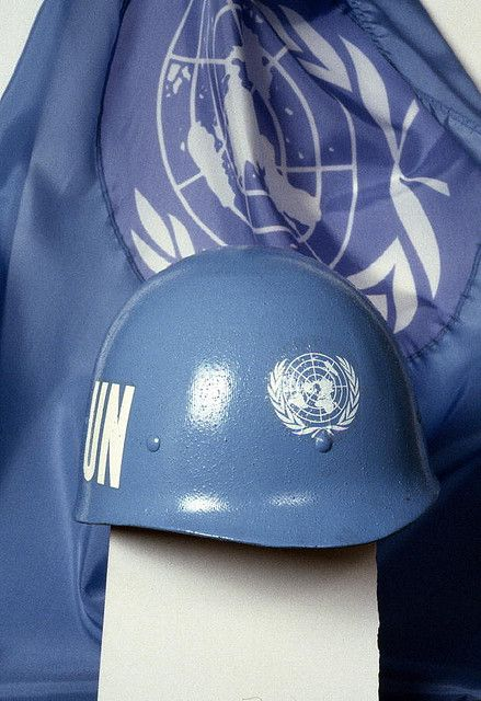 United Nations Peacekeeping Forces by United Nations Photo, via Flickr