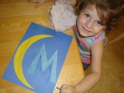 Moments of Mommyhood: alphabet book