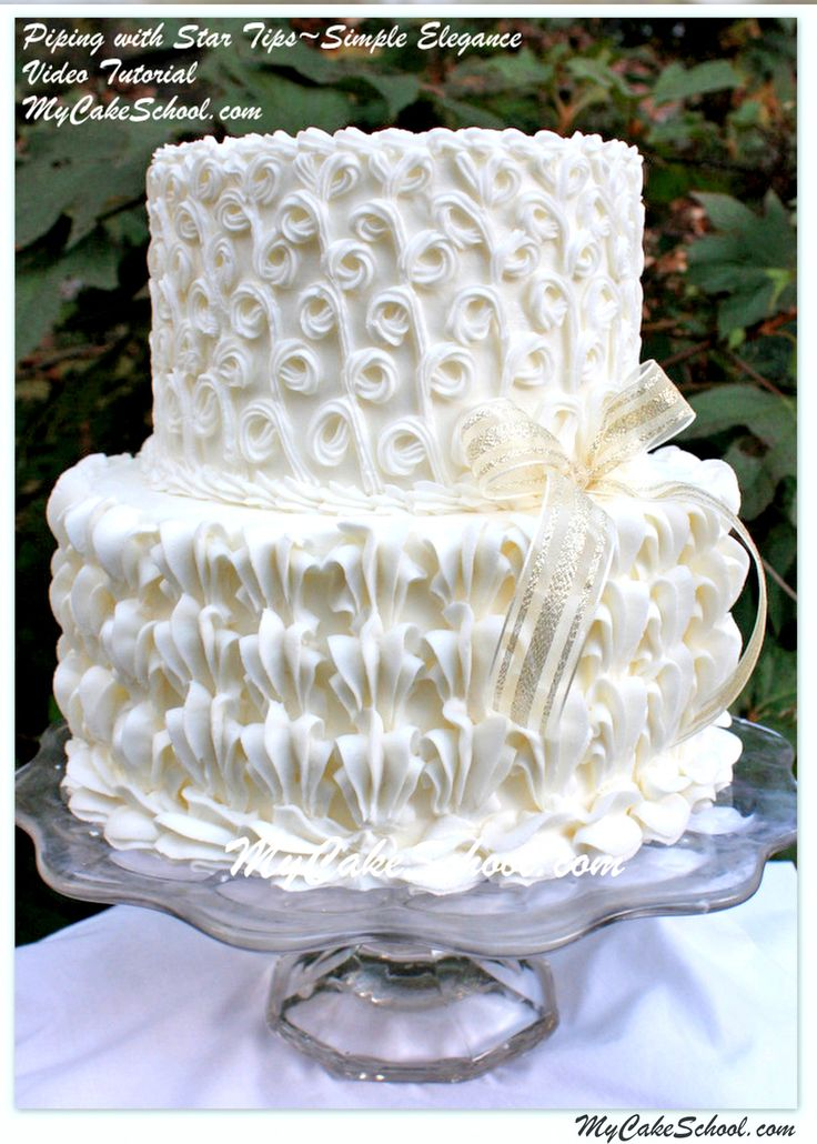 125 Best Piping Techniques And Textured For Cake Decorating Images On Pinterest