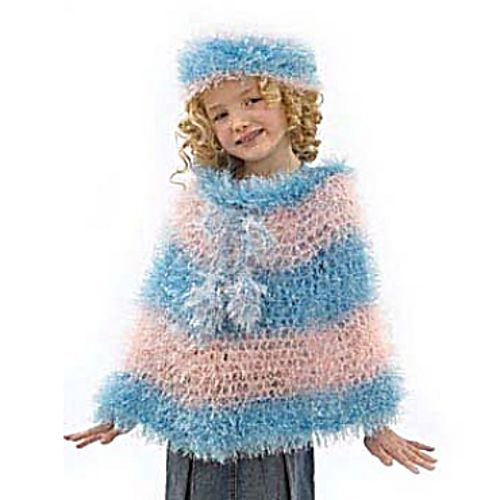 Ravelry: Cutie Pie Poncho & Hat to Crochet pattern by Lion ...