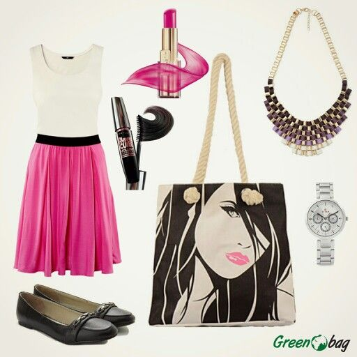 #FashionTip #GreenoBag this festive season step out in #style with the #perfect look for the day out