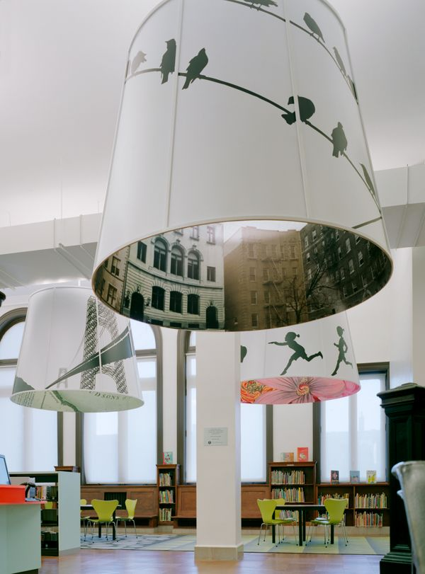 Children's Library at Fort Washington, New York City by Sage & Coombe