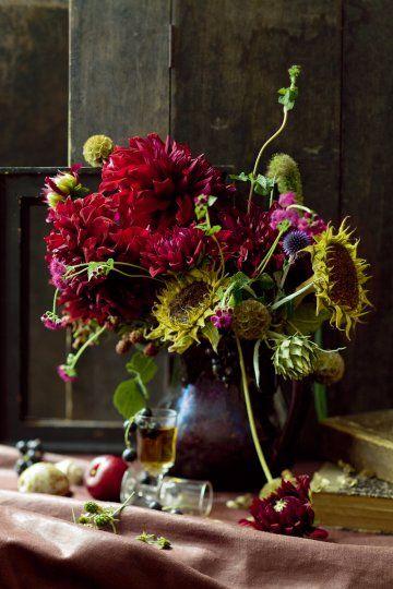 #autumnal florals...