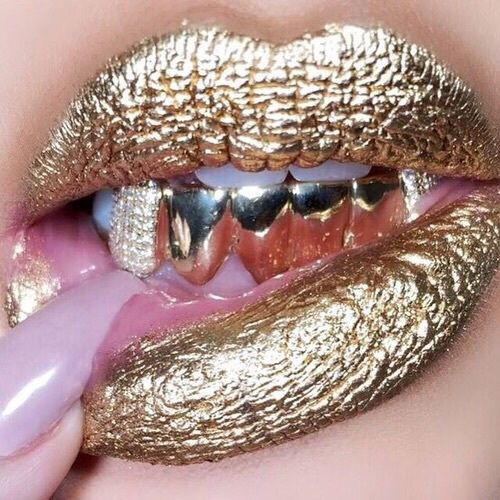 Gold teeth images on Favim.com
