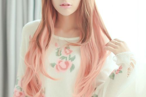 Pastel pink and brown ombre hair!  Hair  Pinterest  Lolita cosplay, Pastel and My hair