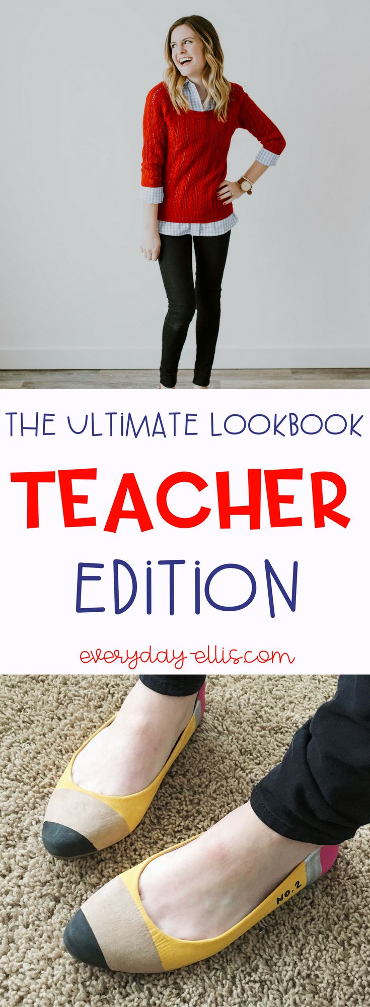 Trendy, functional teacher outfits for this fall, or year-round.