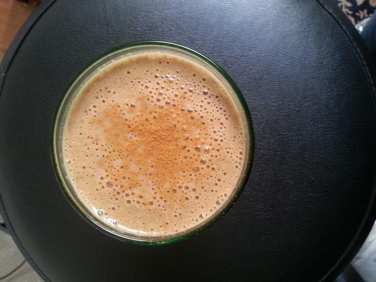 Krachtige koffie smoothie (power ontbijt) | Groentje Gezond