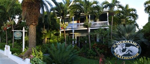 The Mermaid & Alligator - Key West, Florida. Key West Bed and Breakfast Inns