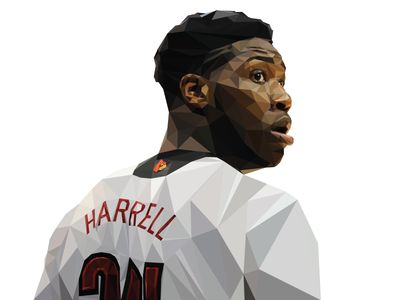 Montrezl Harrell Polygon Art