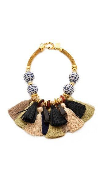 Lizzie Fortunato Polynesia Tassel Necklace | SHOPBOP