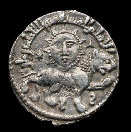 Coin of Giyath al-Din Kay-Khosraw II (reigned 1237-46) 1244 (A.H. 641) Saljuq period Silver H: 2.1 W: 2.1 D: 0.1 cm Turkey