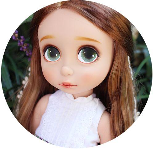 디즈니 베이비돌 라푼젤 :: Disney animators collection Rapunzel