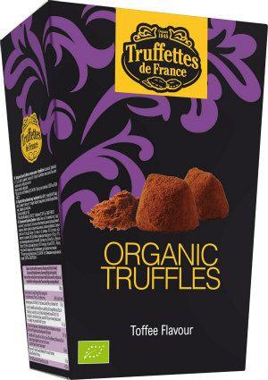 Czekoladki trufle o smaku toffi Bio, 250 g - Truffettes de France