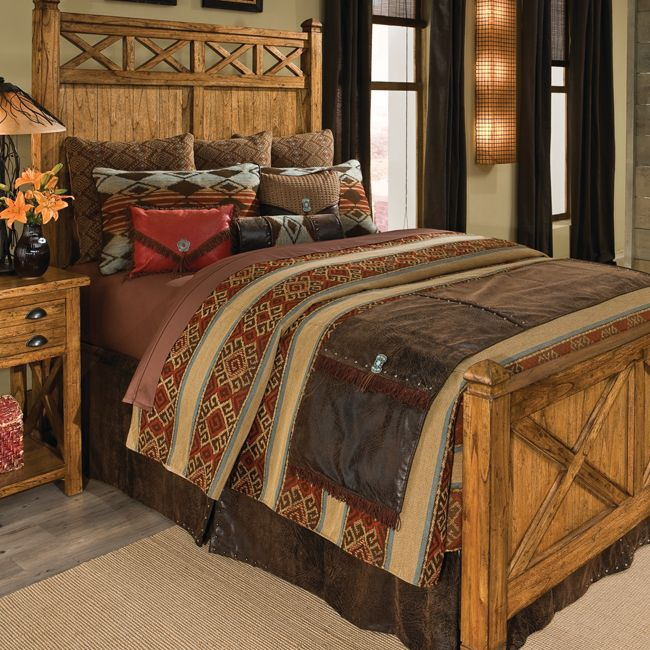 Decorating Problem Large And Narrow Western Bedrooms Stylish Western Home Decorating