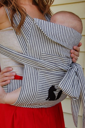 Amazing Mei Tai Sewing Pattern Illustration - Easy Scarf Knitting ...
