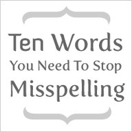 GREAT page... spelling, commas, semicolons and more