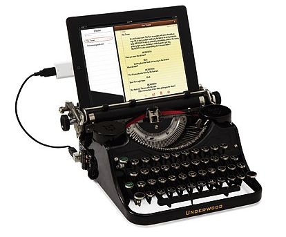 awesome office accessories. the ipad typewriter: perfect accessory for anyone who writes, describes themself as an \u0027 awesome office accessories i