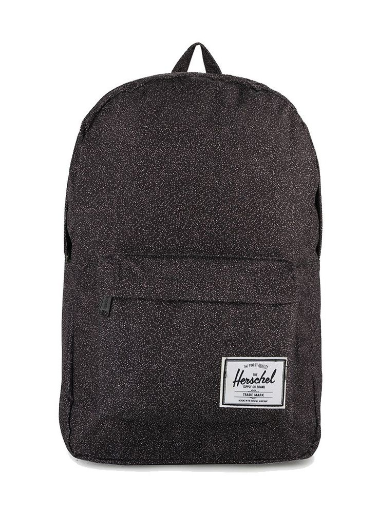 Classic Backpacks by Herschel. Backpack that made of polyester cotton, with gray color and pattern print all over, this classic style backpack has a front pocket, zipper closure, one main spacious compartment. Perfectly tailored to fit your style! http://www.zocko.com/z/JHbaR