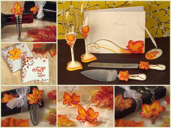 Cassiani Collection fall wedding favor from hotref.com