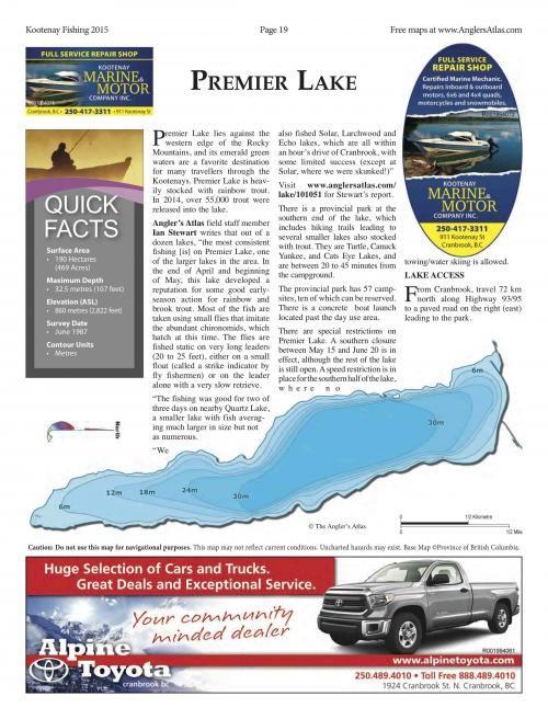 Photo thumbnail: Lake of the Day July 7: Premier Lake, BC