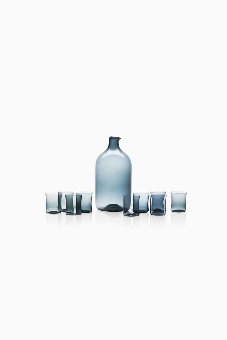 Timo Sarpaneva glass bottle by Iittala at Studio Schalling