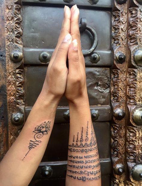 1b39d0078 Tatouage bouddhiste , sak yant, sak Yan, tatouage, tattoo, bouddhiste,  magique, protection, sacré, religieux, famille, thai, thailande, Cambodge,  ...