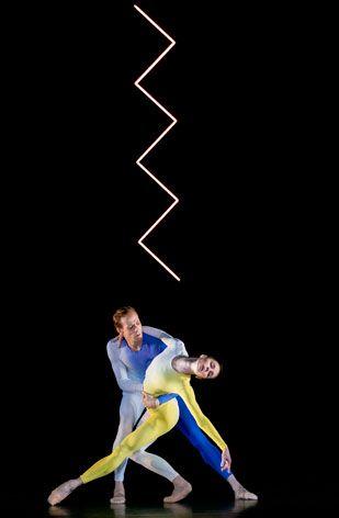 Artist Tauba Auerbach illuminates Wayne McGregor's new ballet at the Royal Opera House in London | Art | Wallpaper* Magazine