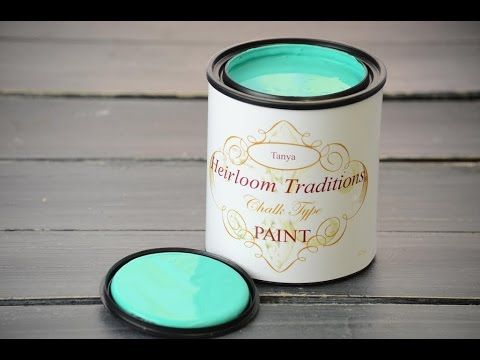 How to use Heirloom Traditions Chalk Type Paint Instructional Video with Host Paula Blankenship - YouTube