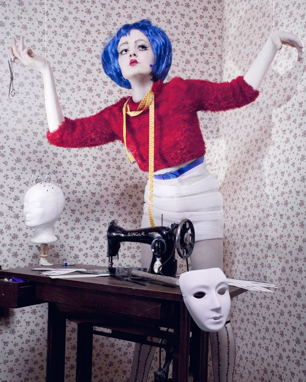 Puppet Master by Federica Roncaldier, via Behance