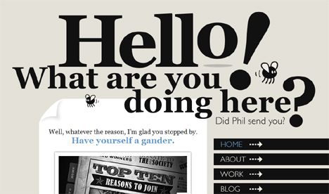 Winsome Words: 18 Examples of Typography in Web Design