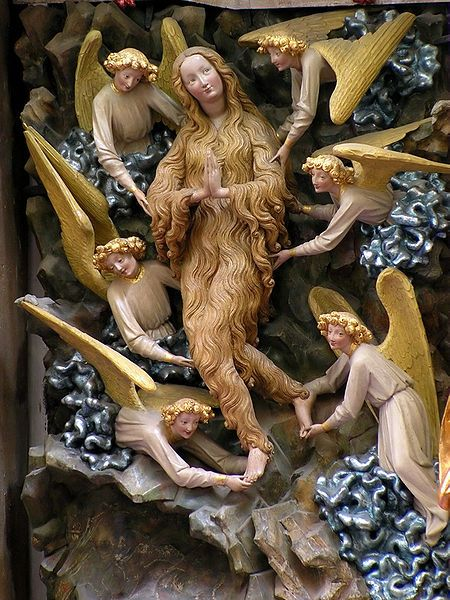 #Torun SS Johns Mary MagdaleneInternational Gothic Mary Magdalene in St. John Cathedral in Toruń