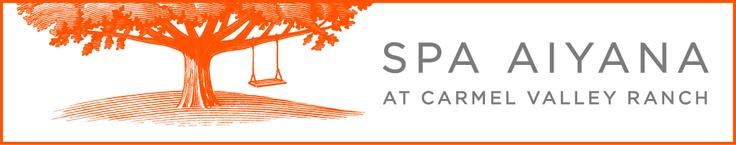 Carmel Valley Ranch, a Joie de Vivre Hotel - Spa Aiyana logo and brand identity development