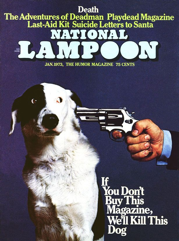 lampoon / Most controversial magazine cover