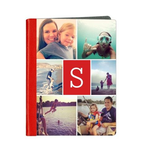 """Personalized iPad cases - great selection of styles!  Make your mom's iPad say """"I love you"""" with a unique collage of her favorite photos."""