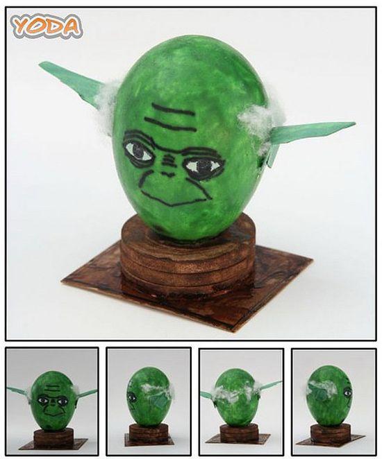 7 Eggstraordinary Star Wars Easter Egg Designs