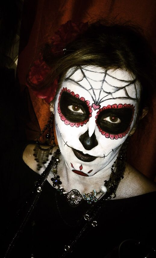 Mexican scull  Halloween 2014