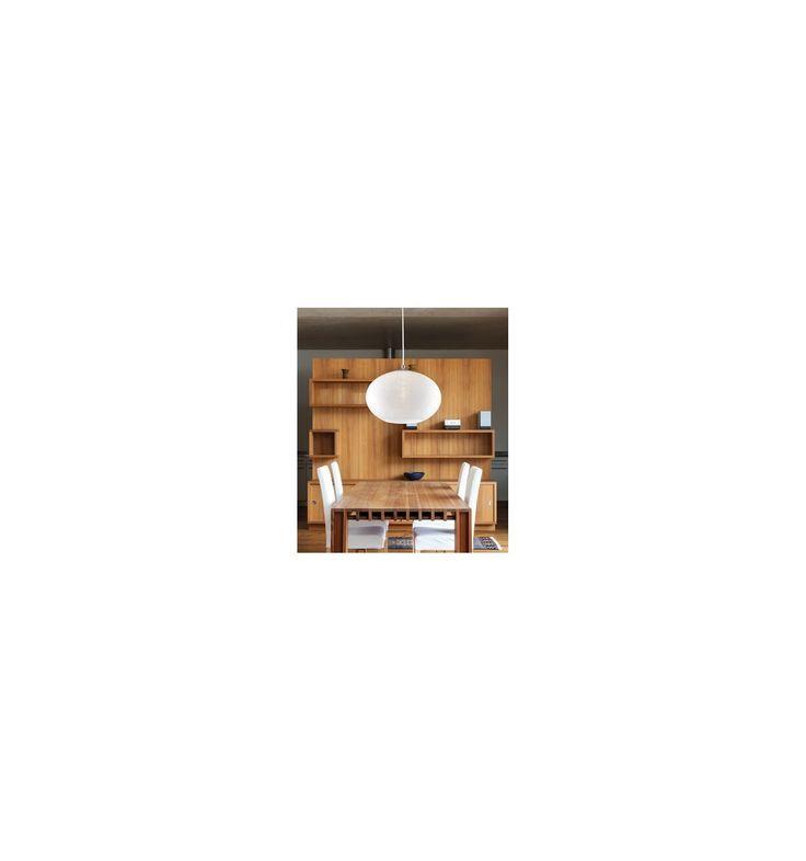 Φωτιστικό Κρεμαστό Μέταλλο & Γυαλί Ovale - Kourtakis-Lighting