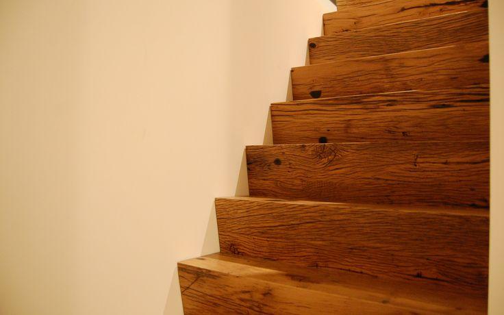 17 beste idee n over oud hout op pinterest oud hout projecten verouderend hout en hout - Schilderij kooi d trap ...