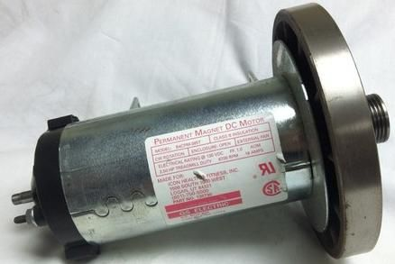 Used treadmill motor (permanent magnet dc motor) for wind turbine generator